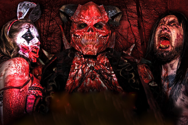 Bloodrush Outdoor Haunted House featured image