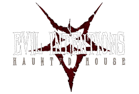 Evil Intentions Haunted House Logo