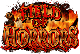 Field of Horrors haunted house in New York logo