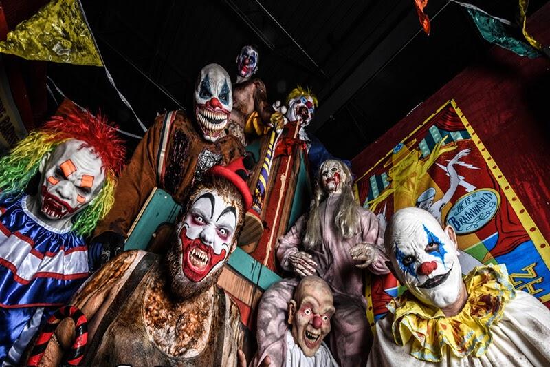 Massacre Haunted House in Illinois joker monsters