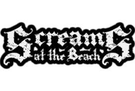 Screams at the Beach haunted house in Delaware logo
