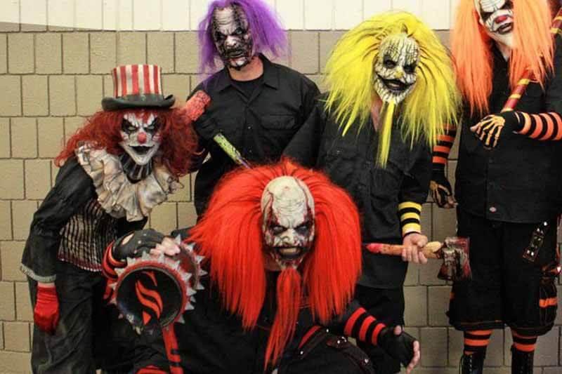 Toynbee's House of Horrors haunted house in Kansas psycho killer jokers