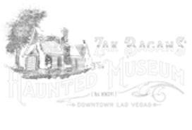 Zak Bagans' The Haunted Museum haunted house in Nevada logo