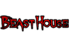 Beast House haunted house in Tennessee logo